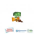 Werbe-Würfel mit Ferrero Küsschen, 1er, Klimaneutral, FSC®-zertifiziert