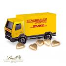 3D Präsent LKW Lindt Schokoladenherzen