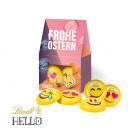 Businesspräsent Selection Mini Lindt Hello Mini Emoti