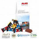 Businesspräsent Selection Lindt Hello Mini Klimaneutral, FSC®