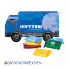 3D Präsent LKW Ritter Sport Schokotäfelchen