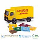 3D Präsent LKW Ritter Sport Schokotäfelchen Klimaneutral, FSC®
