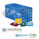 Präsent Weihnachts-Container Ritter Sport, Klimaneutral, FSC®-zertifiziert
