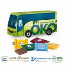 3D Präsent Bus Ritter Sport Schokotäfelchen Klimaneutral, FSC®