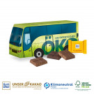 Präsent Weihnachts-Bus, Klimaneutral, FSC®-zertifiziert