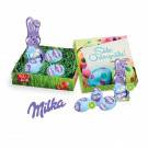 Osternest mit Schokolade von Milka