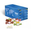 """3D Präsent """"Container"""" mit Lindt Macarons Mischung"""
