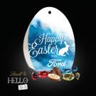 Osterei mit Lindt Hello Eiern