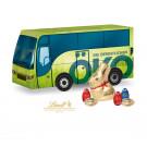 """3D Präsent """"Bus"""" mit Schokoladenmischung von Lindt"""