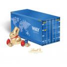 """3D Präsent """"Container"""" mit Schokoladenmischung von Lindt"""