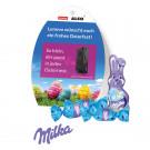 Werbe-Osterei mit Schokoladenmischung von Milka