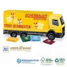 3D Adventskalender Ritter SPORT LKW, Klimaneutral, FSC®-zertifiziert