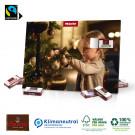 Tisch-Adventskalender mit Fairtrade®-Schokolade, Klimaneutral, FSC®-zertifiziert