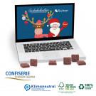 Tisch-Adventskalender Classic Exklusiv Laptop, Klimaneutral, FSC®-zertifiziert