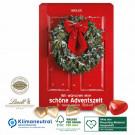 Wand-Adventskalender Schokoladen-Herzen Klimaneutral, FSC®-zertifiziert