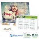 2 in 1 Adventskalender mit Jahresplaner Lindt, Klimaneutral, FSC®-zertifiziert