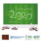 Countdown-Kalender mit variabler Türchenanzahl, Klimaneutral, FSC®-zertifiziert