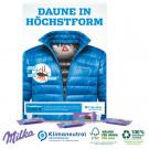 Wand-Adventskalender mit Milka Schokolade, Klimaneutral, FSC®-zertifiziert