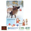 Wand-Adventskalender Lindt Gourmet Edition, Klimaneutral, FSC®-zertifiziert