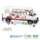 3D Adventskalender Lindt Transporter, Klimaneutral, FSC®-zertifiziert