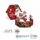 Süße Präsentbox Lindt Weihnachten Mini, Klimaneutral, FSC®-zertifiziert