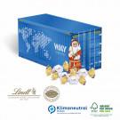 Präsent Weihnachts-Container Lindt, Klimaneutral, FSC®-zertifiziert
