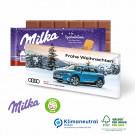 Milka Weihnachtsschokolade, 100 g, Klimaneutral, FSC®-zertifiziert