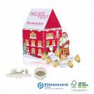 Präsent Weihnachtshaus Lindt, Klimaneutral, FSC®-zertifiziert