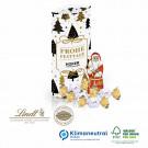 Kissenverpackung mit Lindt Schokolade, Klimaneutral, FSC®-zertifiziert