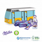 Präsent Weihnachts-Bus Milka, Klimaneutral, FSC®-zertifiziert