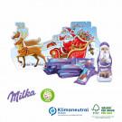 Präsent Schlitten Milka, Klimaneutral, FSC®-zertifiziert