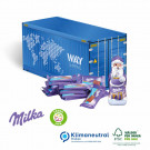 Präsent Weihnachts-Container Milka, Klimaneutral, FSC®-zertifiziert