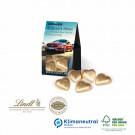 Präsent Christmas Minis Lindt Herzen, Klimaneutral, FSC®-zertifiziert