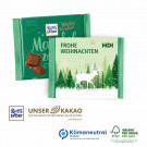 Ritter Sport Winterkreation mit Werbebanderole, Klimaneutral, FSC®-zertifiziert