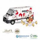 Präsent Weihnachts-Transporter Lindt, Klimaneutral, FSC®-zertifiziert