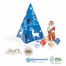 Präsent Weihnachtsbaum Lindt, Klimaneutral, FSC®-zertifiziert