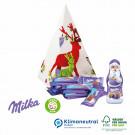 Präsent Weihnachtsbaum Milka, Klimaneutral, FSC®-zertifiziert