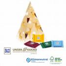 Präsent Weihnachtsbaum Ritter Sport, Klimaneutral, FSC®-zertifiziert
