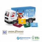 Präsent Weihnachts-Express Ritter Sport, Klimaneutral, FSC®-zertifiziert