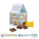 Präsent Weihnachtshaus, Klimaneutral, FSC®-zertifiziert