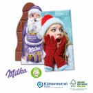 Milka Weihnachtsmann-Tafel 85 g, Klimaneutral, FSC®-zertifiziert