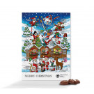 Classic Wand-Adventskalender Standardmotiv