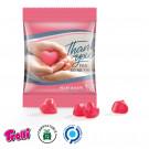 Fruchtgummi Minitüte 10 g mit ❤lichem Dank