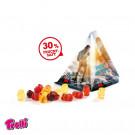 Fruchtsaft Gummibärchen Tetraeder