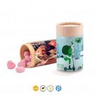 Papierdose Eco Midi mit Bonbons