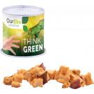 Papierdose Eco Maxi mit Apfel Cubes