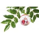 Weihnachtskugel Trend 56,5g mit Kärtchen