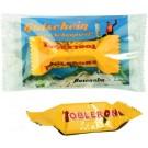 Werbeträger Toblerone in kompostierbarer Außenfolie