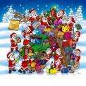 Weihnachtstransport